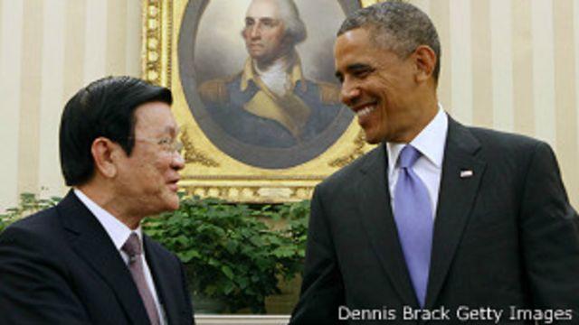 Chủ tịch Sang bày tỏ mong muốn tăng cường quan hệ với Mỹ