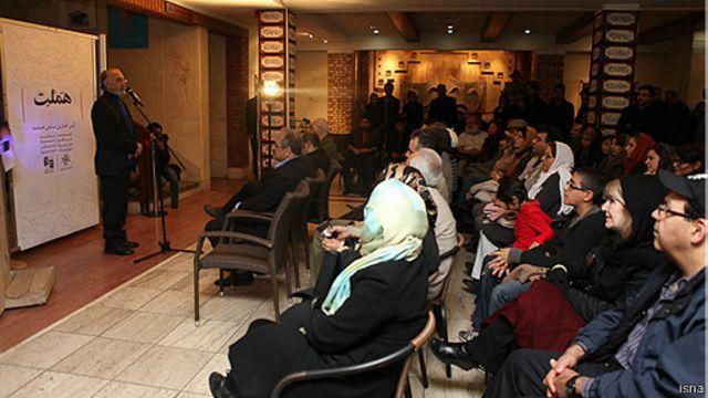 تماشاخانه ایرانشهر- پیش از اجرای نمایش هملت