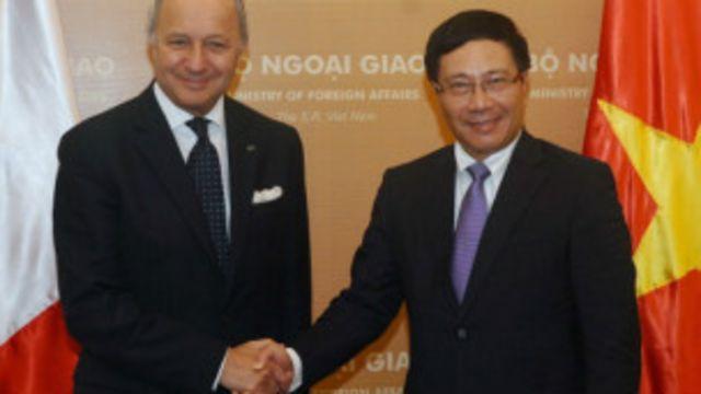 Ngoại trưởng Pháp Fabius thăm Việt Nam đầu tháng Tám