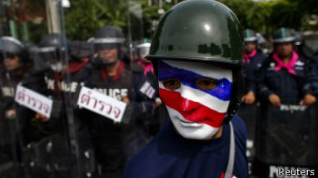 Anti-government protester, Reuters