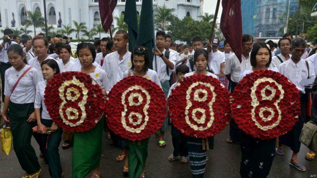 8888, uprising, anniversary, walk