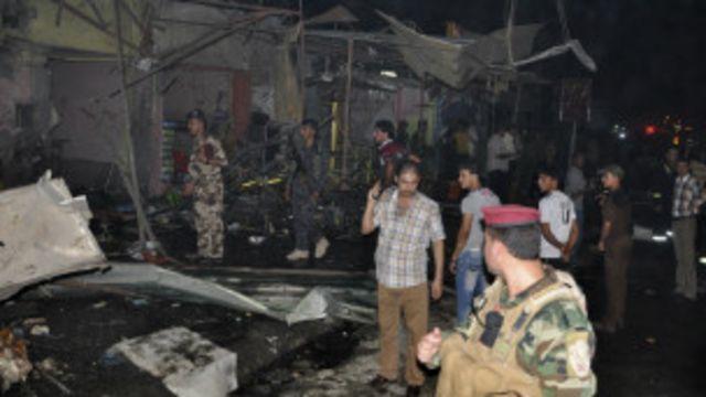 استهدفت الهجمات تسع مناطق مختلفة على الأقل بما فيها مقاهي وأسواق ومطاعم