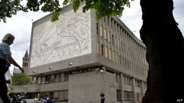 Edificio Y, oficina del gobierno, en Oslo