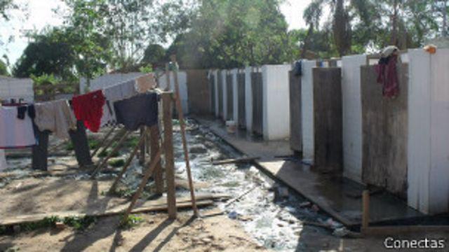 Haitianos em Brasileia, no Acre