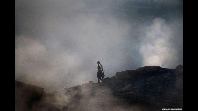 indian coal fire