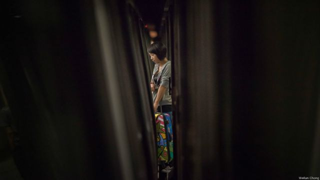"Proyecto ""Mind the Gap"", del artista Wei Lun Chong"