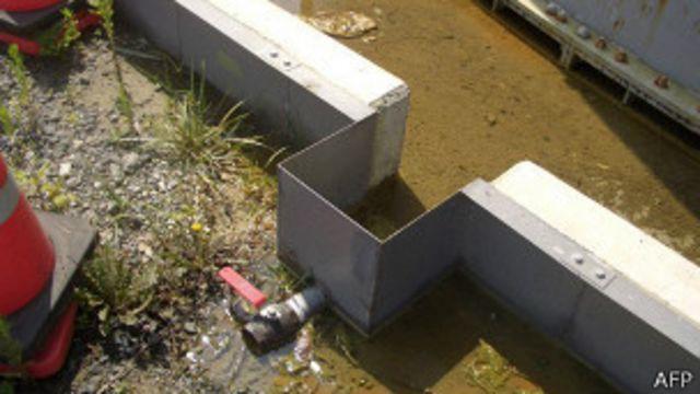 Filtración de agua Fukushima