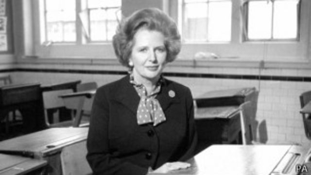 撒切尔夫人1979至1990年担任英国首相,是英国历史上唯一女首相,