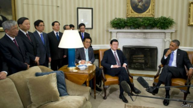 Cuộc gặp lãnh đạo Mỹ Việt được xem là có tính hình thức và theo kịch bản có sẵn.