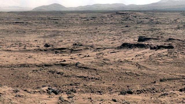 يعتقد أن بيئة كوكب المريخ في مراحله الأولى كانت أكثر جفافا