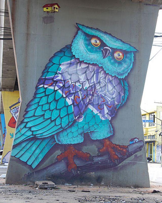 Chivitz နဲ့ Ribeiro တို့ကတော့ ဒီနံရံရေး ပန်းချီတွေ ပြဖို့ Open Museum of Urban Art ဖွင့်ဖို့ စဉ်းစားပြီ