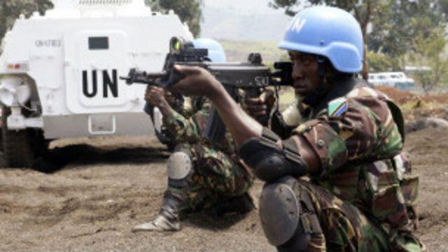 ကုလသမဂ္ဂ ငြိမ်းချမ်းရေး တပ်ဖွဲ့တွေ တာဝန်ယူနေ
