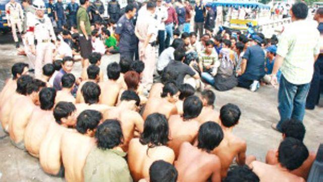 Ngư dân Việt Nam bị bắt ở Thái Lan