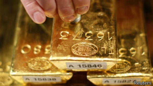 Barras de ouro | Crédito: Reuters