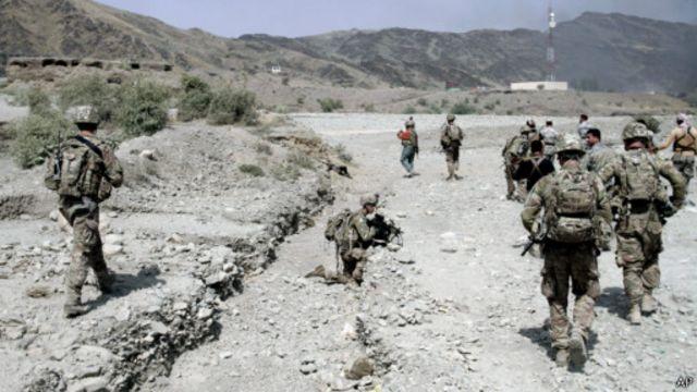 در ولایتهای جنوبی افغانستان بیشتر سربازان آمریکایی مستقر هستند