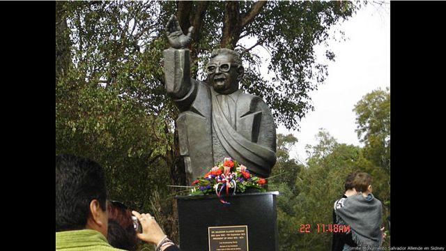 Foto cortesía: Comité Monumento Salvador Allende en Sídney