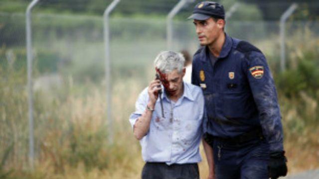 Машинист потерпевшего аварию поезда Франсиско Хосе Гарсон