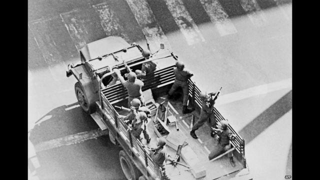 Santiago, 4 oktyabr, 1973. AFP