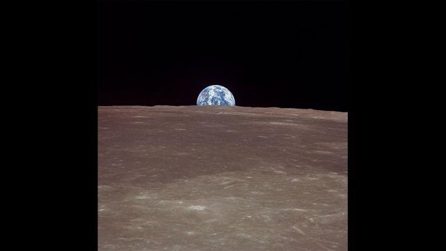 Yer kürəsi, 20 iyul 1969 Apollo 11-dən çəkilib
