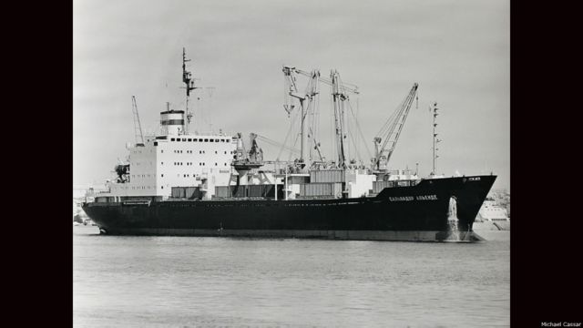 Barco Salvador Allende. Foto cortesía: Michael Cassar/Shipspotting.com