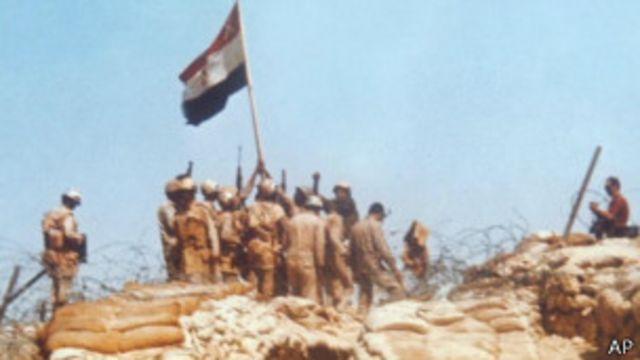 Египетские войска в Синае