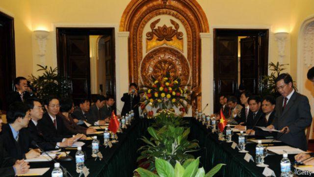 Việt - Trung ra Tuyên bố chung về hoàn thành công tác phân giới cắm mốc trên biên giới đất liền ngày 31/12/2008