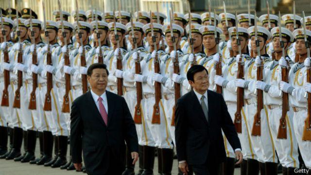 Trong chuyến thăm Trung Quốc của Chủ tịch Trương Tấn Sang năm 2013, hai nước nói sẽ thăm dò dầu khí chung trong khu vực thỏa thuận ngoài khơi vịnh Bắc Bộ