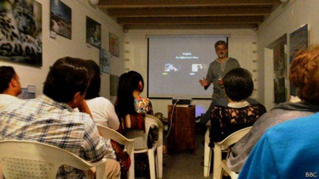 فیلم وژمه؛ غزلنامه عشق افغانی در کابل برای عده محدودی به نمایش گذاشته شد