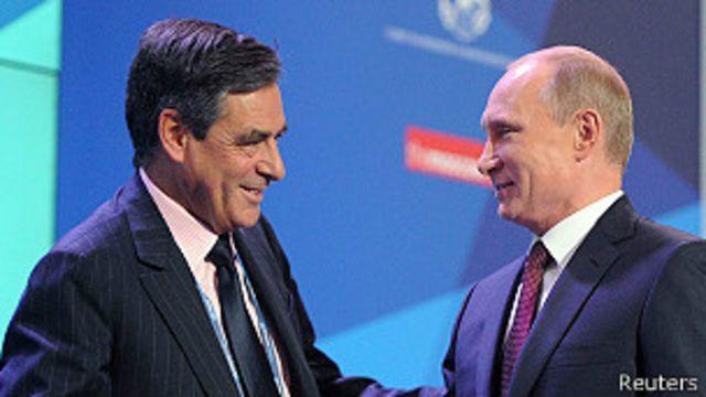 По словам пресс-секретаря Путина, президенту пришлось отвечать на риторический вопрос экс-премьера Франции Франсуа Фийона