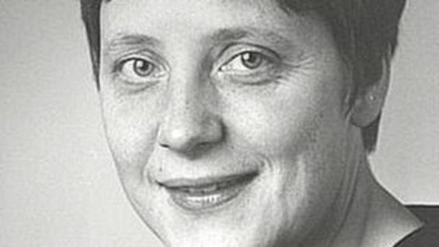 Merkel joven