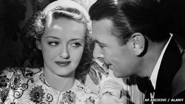 Bette Davis y George Brent