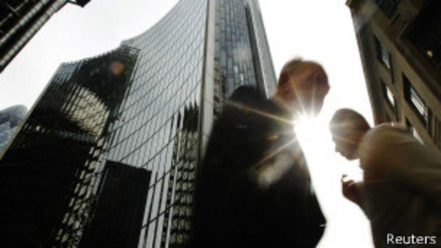 Bankers in London, Reuters