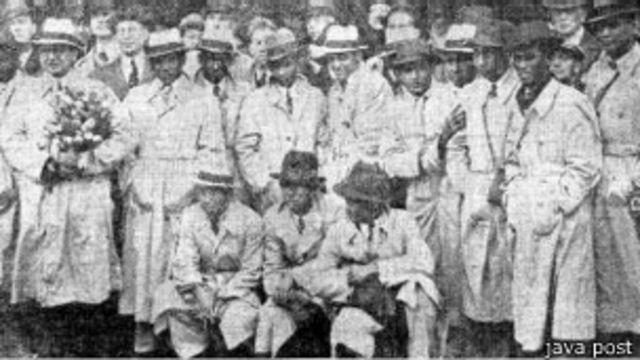 Melacak tim Hindia Belanda di Piala Dunia 1938 - BBC News