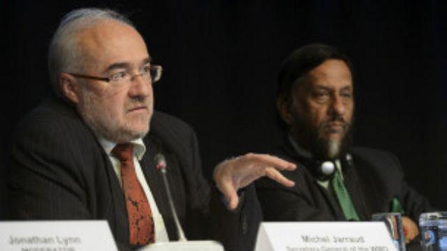 Cientistas do IPCC / AP