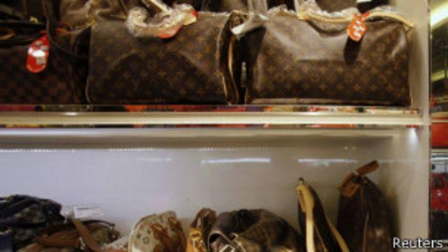 Bolsas de luxo | Crédito: Reuters