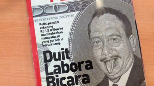 Media memberi porsi besar terhadap pemberitaan kasus Labora Sitorus.