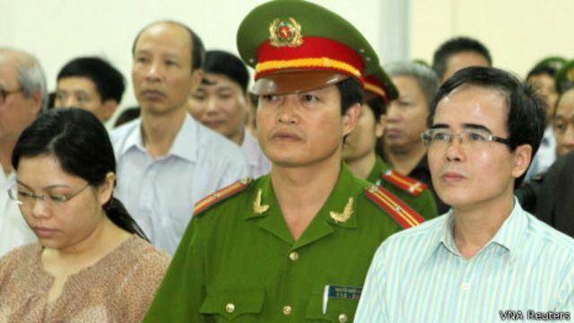 LS Lê Quốc Quân tại phiên tòa sơ thẩm