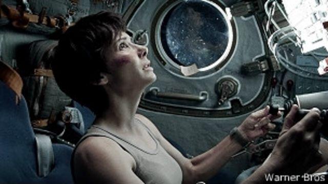 """Escena de """"Gravity"""""""