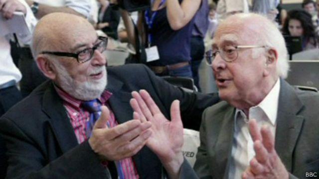 Франсуа Энглер и Питер Хиггс