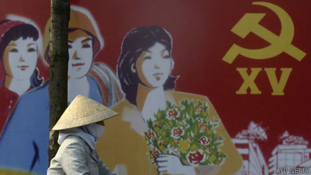 Pa nô cổ động của Đảng Cộng sản Việt Nam