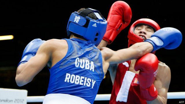 Robeisy Ramírez, boxeador ganador de la medalla de oro