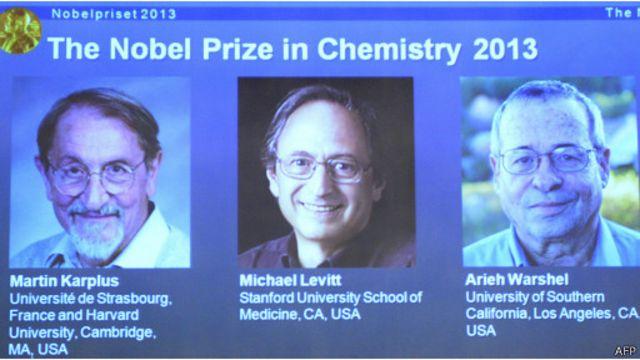 Martin Karplus, Michael Levitt, dan Arieh Warshel