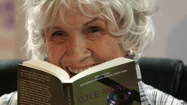 Alice Munro,ganadora del Priemio Nobel de Literatura 2014