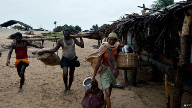 Жители индийской деревни Донкуру