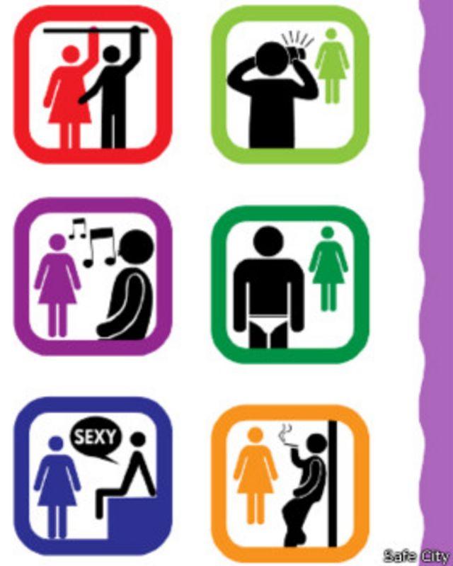 महिलाओं के खिलाफ़ होने वाले यौन दुराचार को दिखाता सेफ़सिटी का एक ग्राफिक.