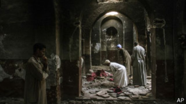 Христиане-копты в Египте