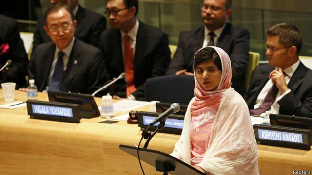ملاله در سازمان ملل