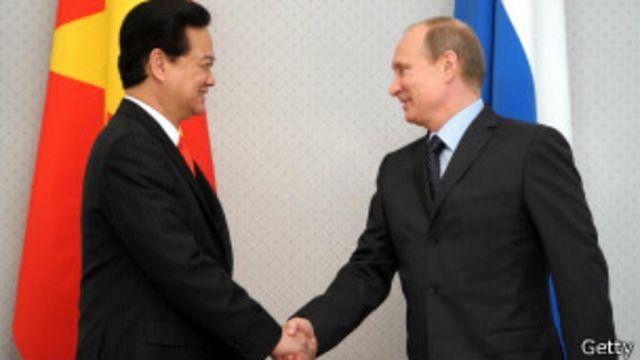 Thủ tướng Nguyễn Tấn Dũng thăm Nga hồi tháng Năm