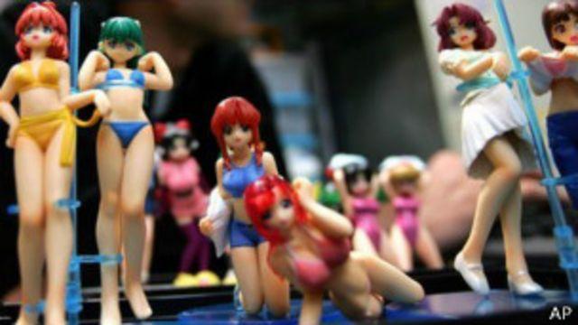 Игрушки в стиле аниме в Токио