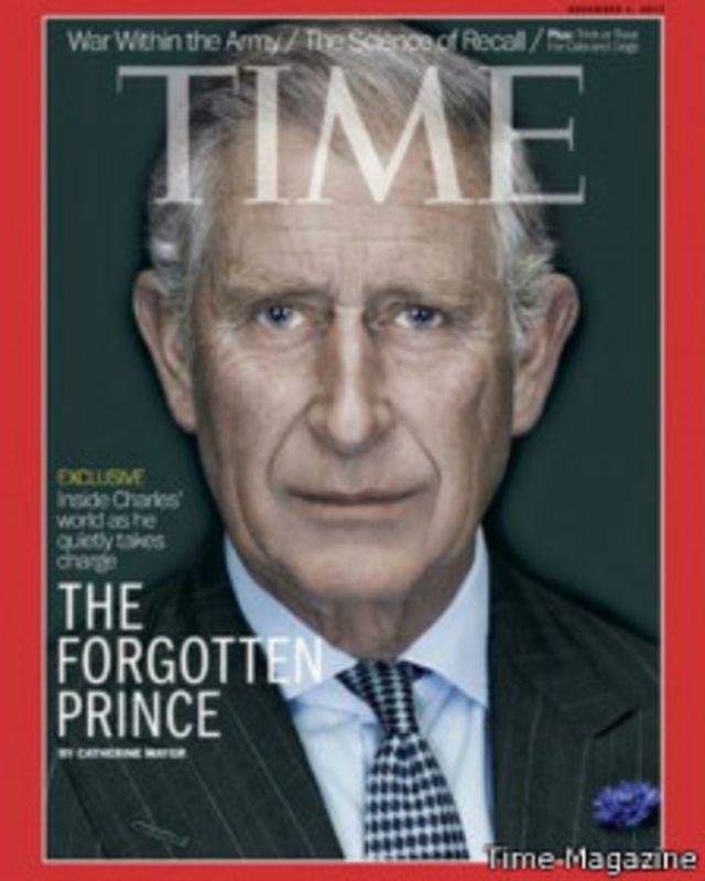 شہزادے نے جریدے کو مستقبل کے بارے میں اپنی خواہشات اور خدشات کے بارے میں بتایا